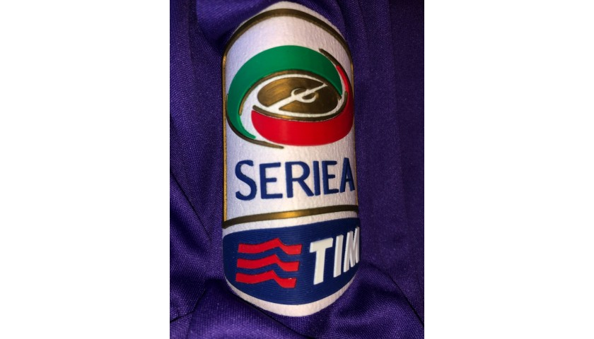 Roncaglia's Fiorentina Match Shirt, Serie A 2013/14