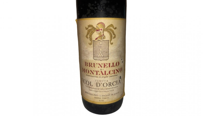 Bottle of Brunello di Montalcino, 1973 - Col d'Orcia Estate