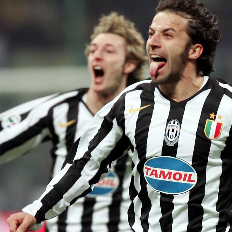 Del Piero shirt, issued/worn Juventus-Inter Supercoppa italiana 2005