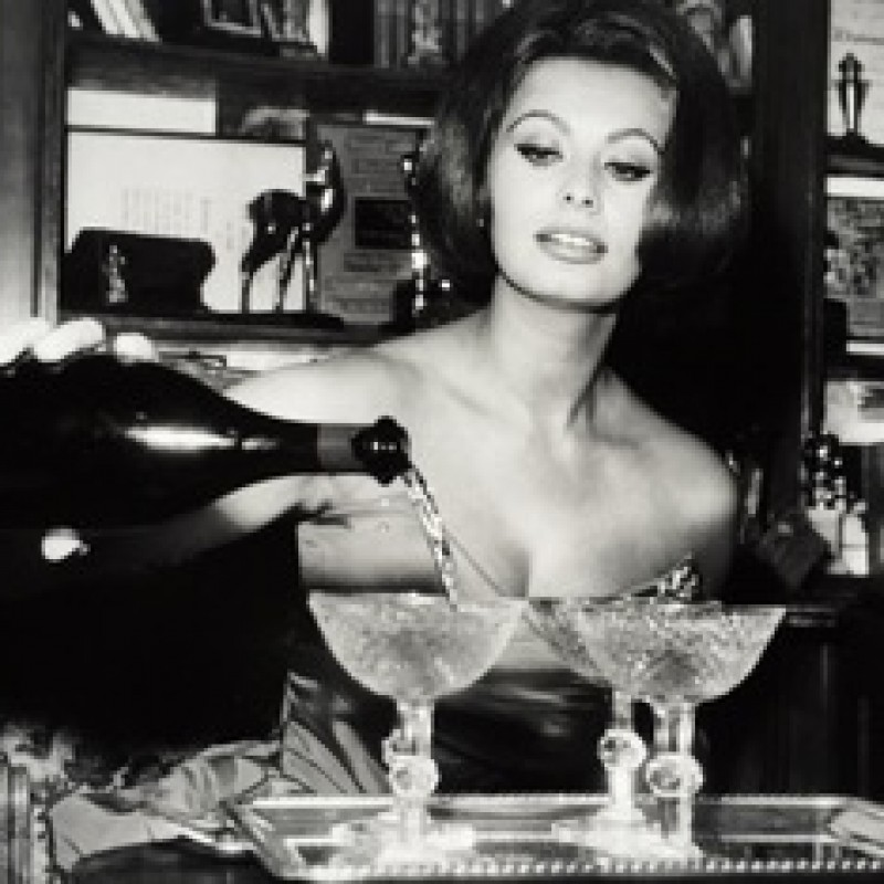 Sophia Loren Print from the Globe Photo Archives