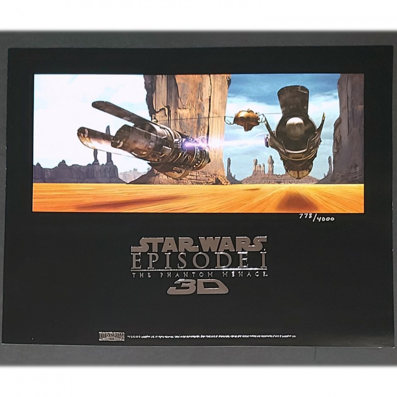 Star Wars: Episode I - The Phantom Menace Numbered Lithograph