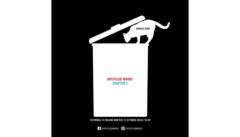 Upcycled Words by Daniele Cima