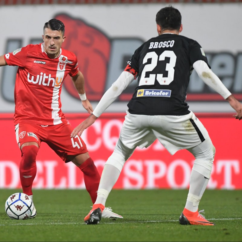 Brosco's Ascoli Signed Match Shirt, 20/21