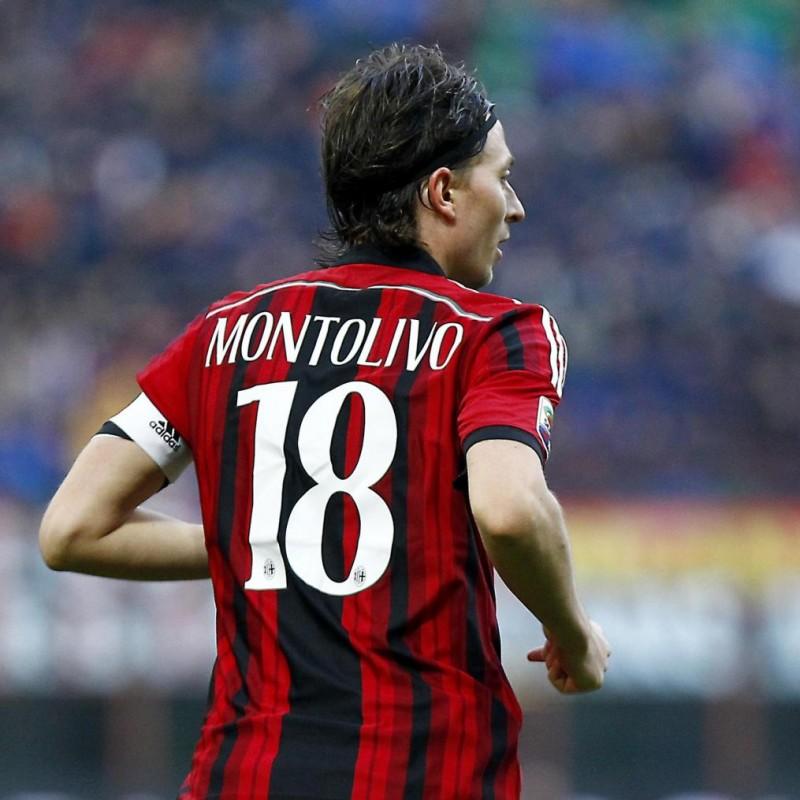 Montolivo's AC Milan Match Shirt, 2014/15