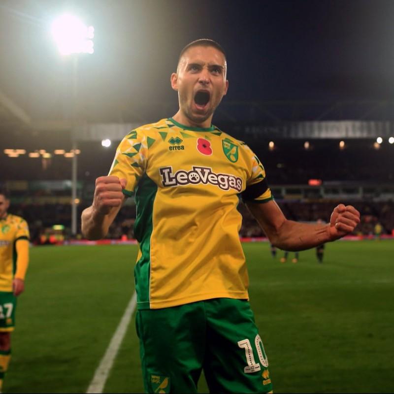 Leitner's Norwich Poppy Match Shirt - Signed