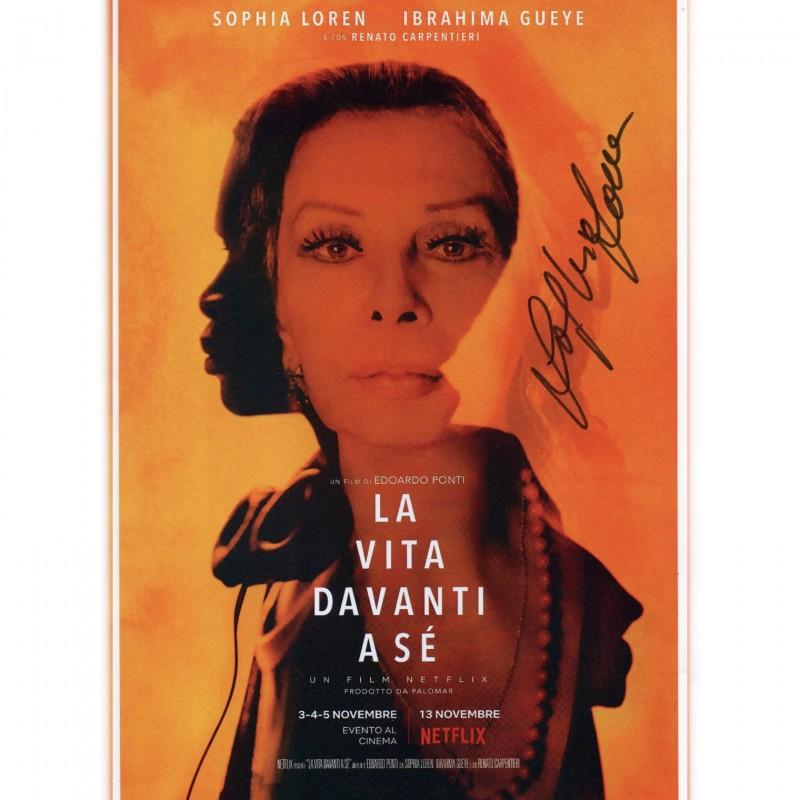 """La vita davanti a sé"" Photograph Signed by Sophia Loren"