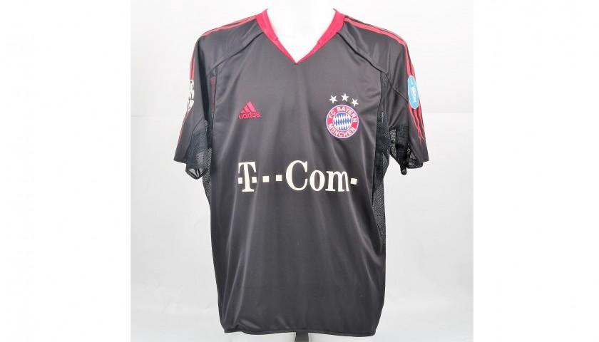 Lucio's Match-Issued/Worn Bayern Munich Shirt, UCL 2004/05