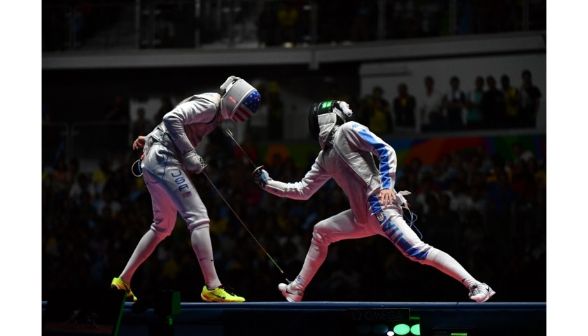 Foil Used by Daniele Garozzo at Rio 2016 - Signed