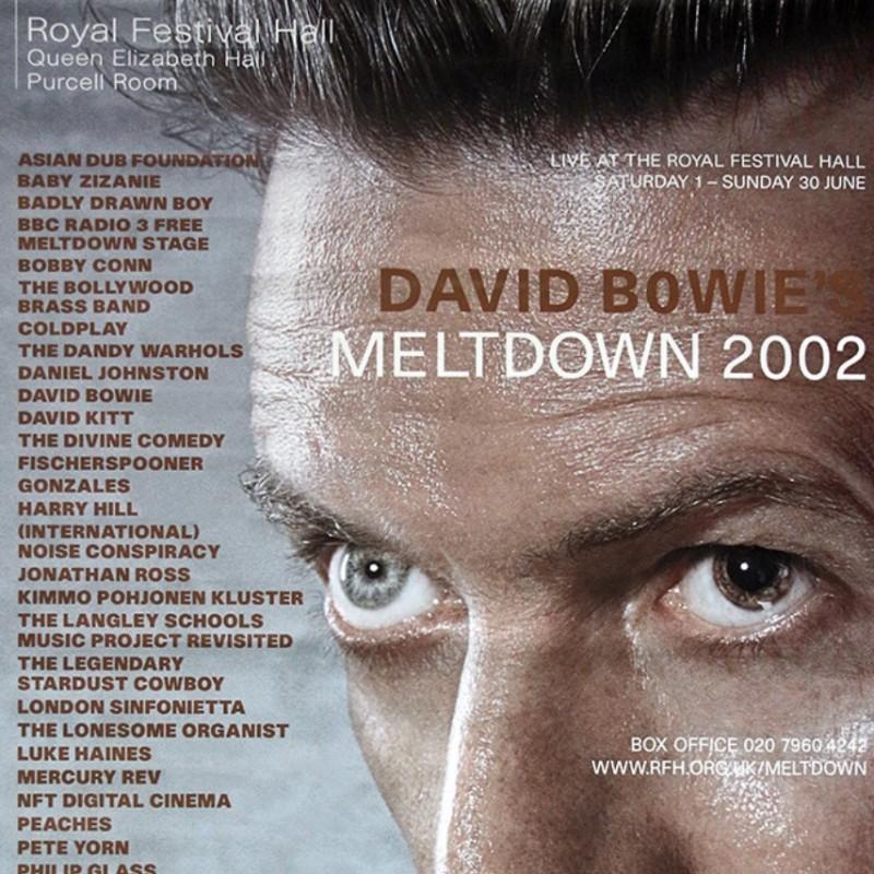 David Bowie Original Tour Poster