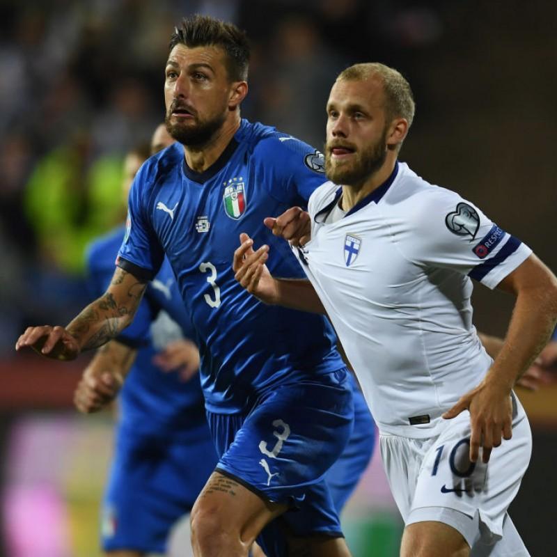 Acerbi's Match Shirt, Finland-Italy 2019