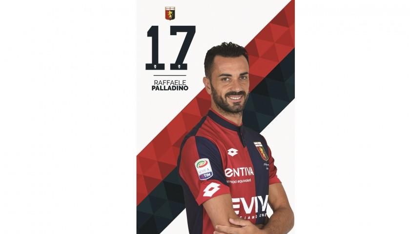Palladino's UNWASHED Special Genoa-Sampdoria Bench-Worn Shirt