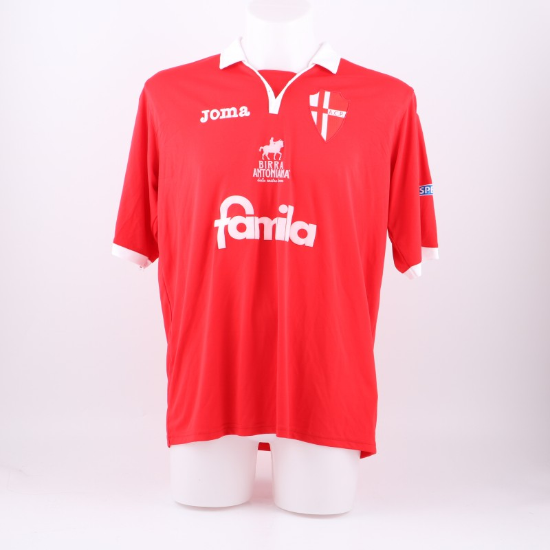 Vantaggiato's Padova match issued/worn shirt, Serie B 2014/2015