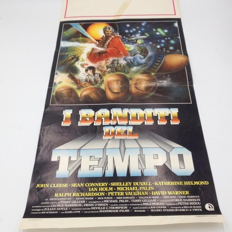 """""""I banditi del tempo"""" Italian Language Poster, 1982"""