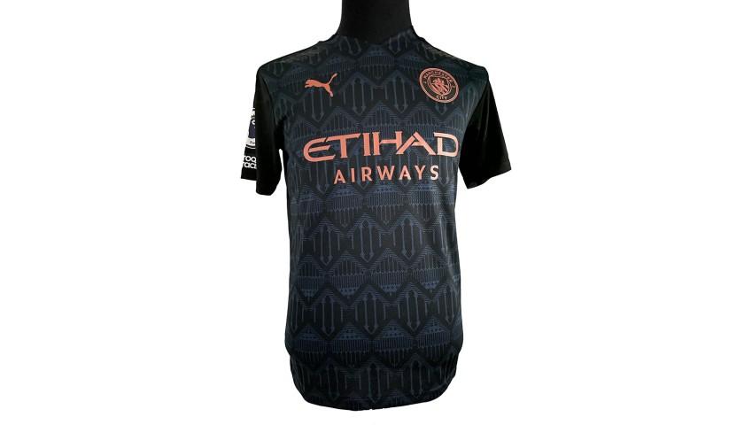 Aguero's Signed Match Shirt, West Ham-Manchester City 2020