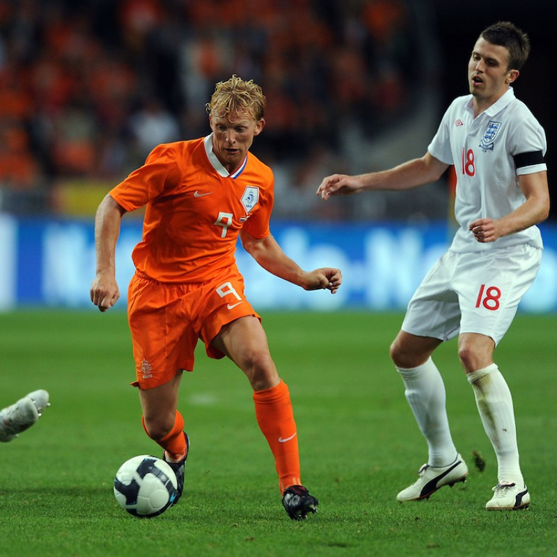 Kuyt's Match Shirt, Holland-England 2009