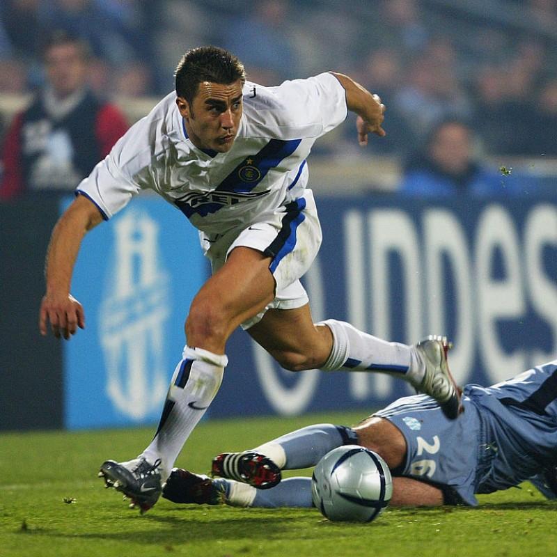 Cannavaro's Inter Match-Issue/Worn Shirt, 2002/03 Season