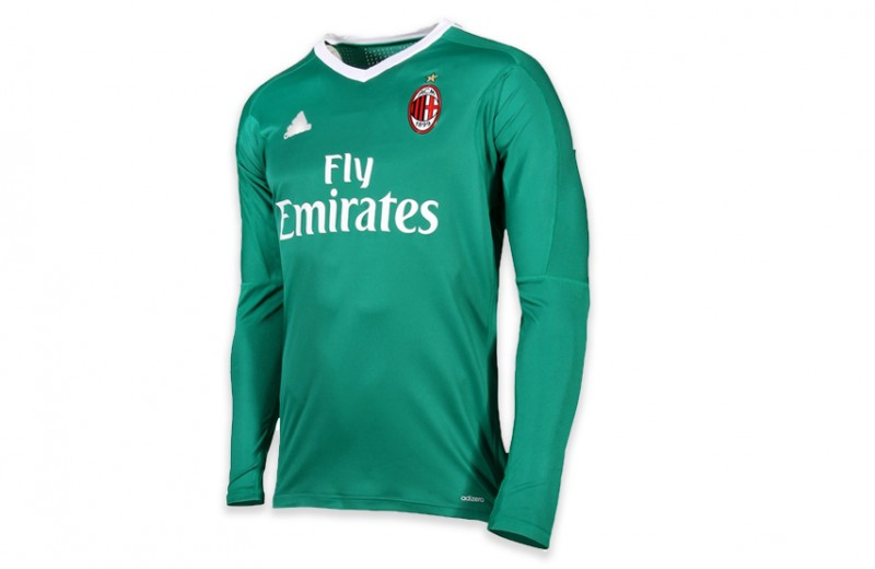 2017/18 Season Promotional Goalkeeper Shirt Signed and Personalized by Donnarumma