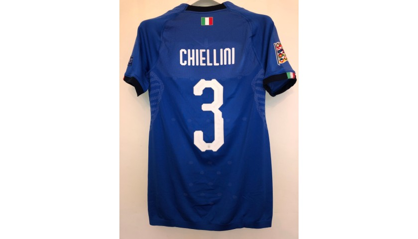 Chiellini's Match Shirt, Italy-Portugal 2018