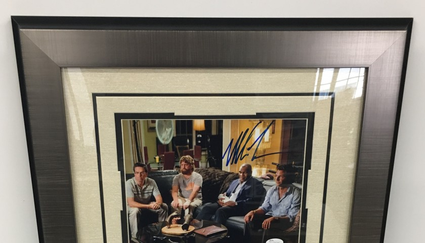 """""""We all do Dumb Sh*& When We're F*^&$d Up"""" Photograph - Hand Signed by Mike Tyson"""