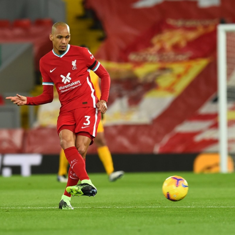 Fabinho's Liverpool FC Match-Issued and Signed Shirt, Limited Edition 20/21