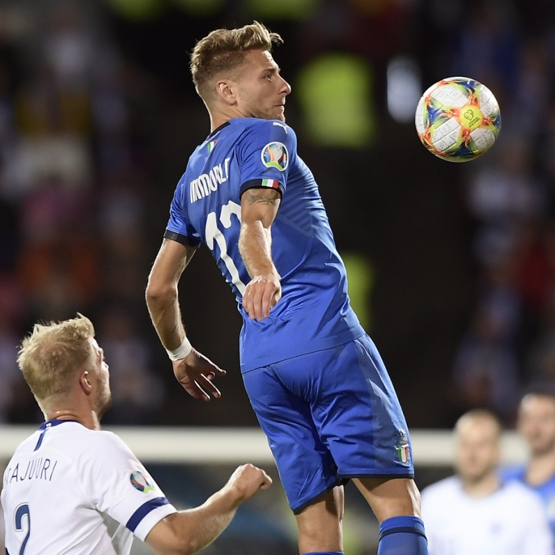 Immobile's Match Shirt, Italy-Finland 2019