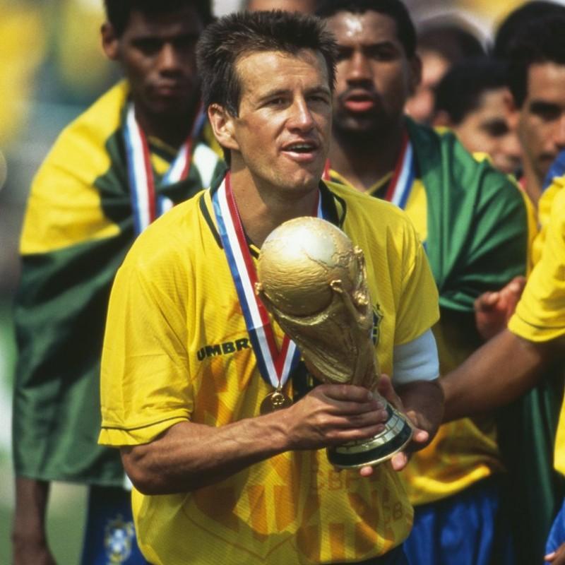 Maglia Ufficiale Dunga Brasile, 1994 - Autografata