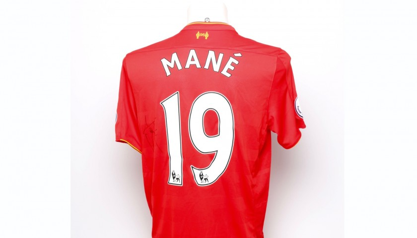 new products 25d24 0545c Signed Sadio Mané Limited Edition 'Seeing is Believing' 16/17 Liverpool FC  Shirt - CharityStars