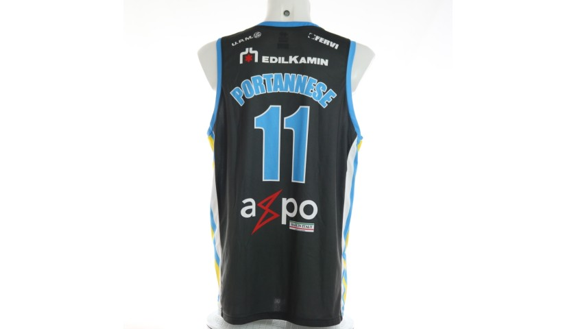 Portannese's Cremona Signed Match Jersey, 2017/18