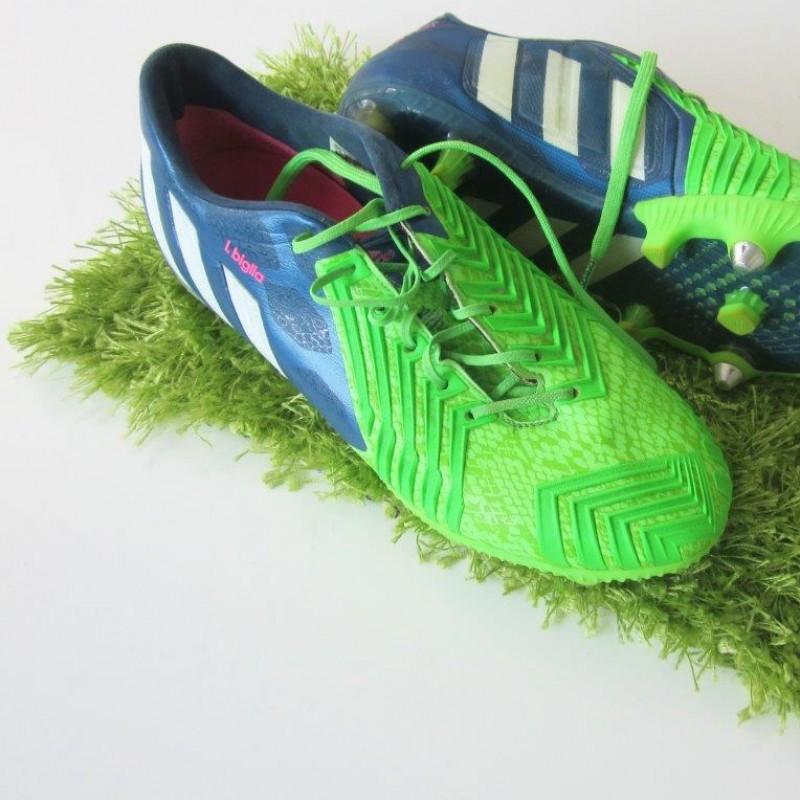Biglia s match worn boots 4a2fc8d15