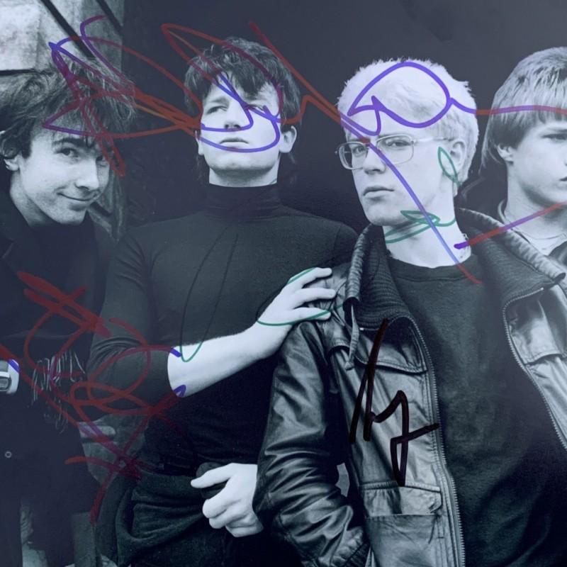 U2 Signed Photograph