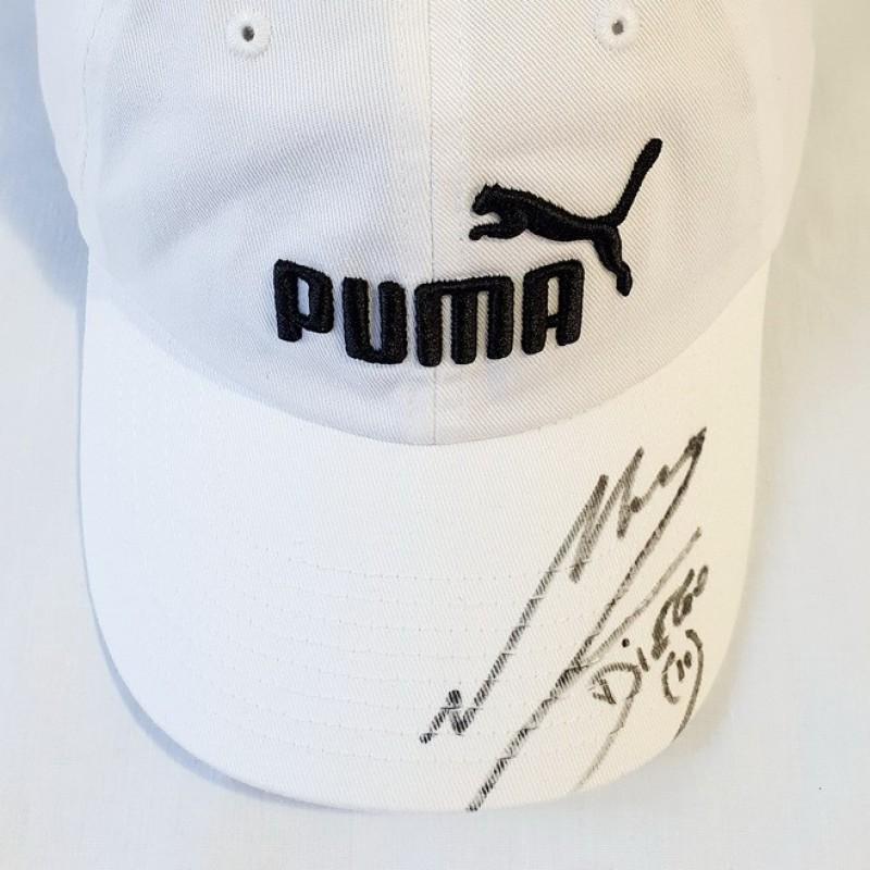 Puma Cap Signed by Maradona