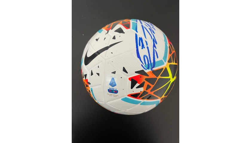 Match-Ball Serie A TIM 2019/20 - Signed by Ronaldo