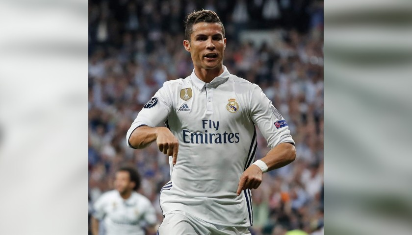 Ronaldo's Real Madrid Match-Issue/Worn Shirt, UCL 2016/17 ...