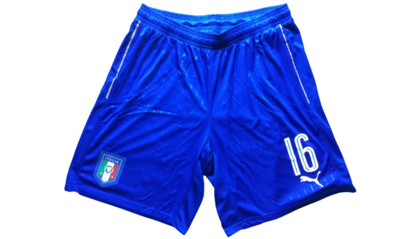 De Rossi's Match Shorts, Italy-Spain 2016