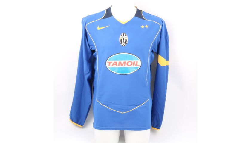 Del Piero's Juventus Signed Match Shirt, UCL 2004/05