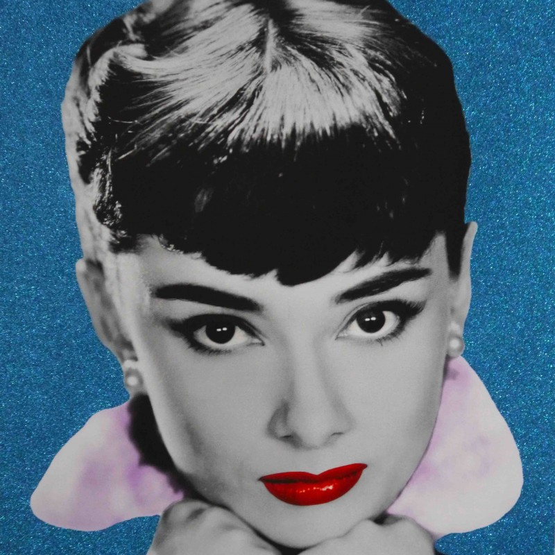 'Audrey' Diamond Dust Print by David Studwell