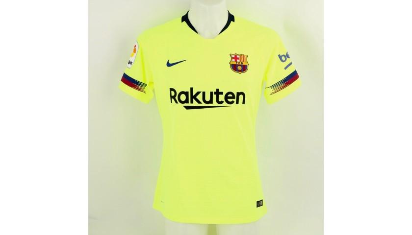 Dembele's Barcelona Match Shirt, Liga 2018/19