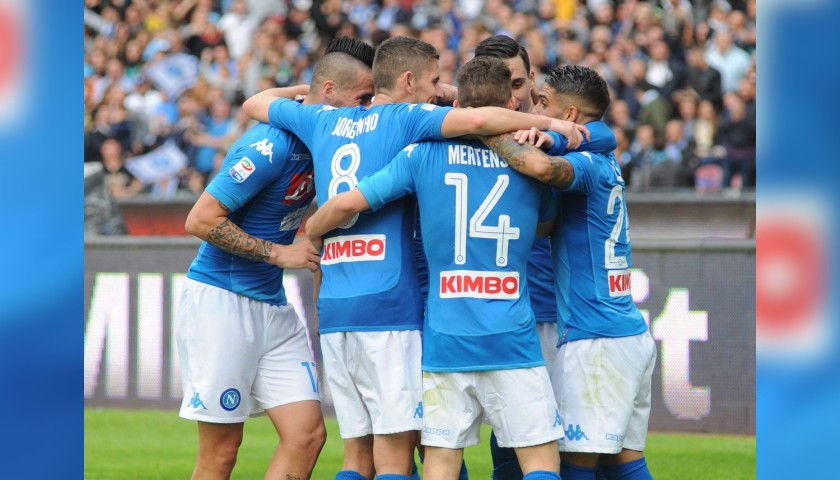 Official Napoli Football, 2017/18 - Signed by the Squad