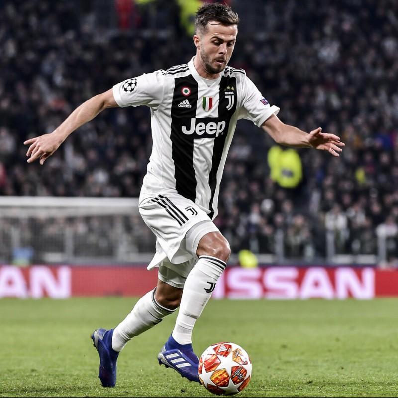 Pjanic's Juventus Match Shirt, UCL 2018/19