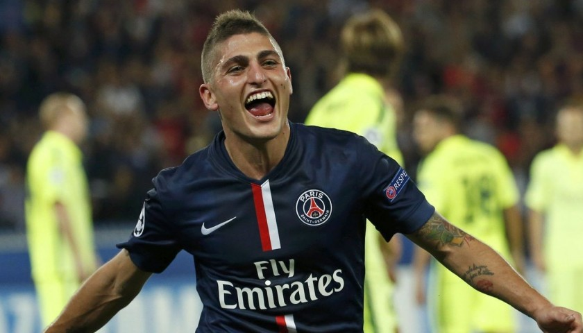 A dinner with the PSG midfielder Marco Verratti