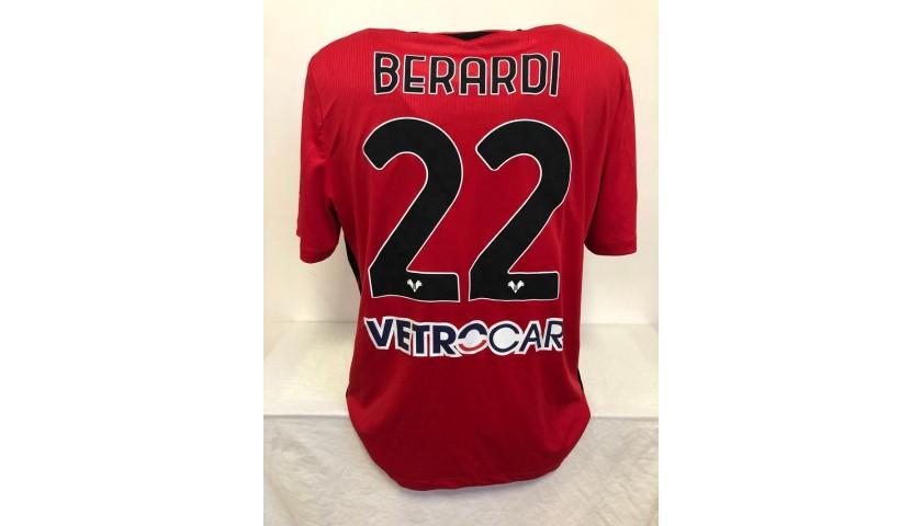 Berardi's Verona Match Issued Shirt, 2020/21
