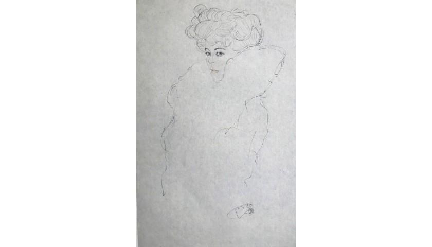 """""""Frauen in Pelz"""" by Gustav Klimt"""