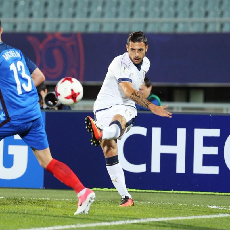Pezzella's Match Shirt, France-Italy, U-20 2017 World Cup
