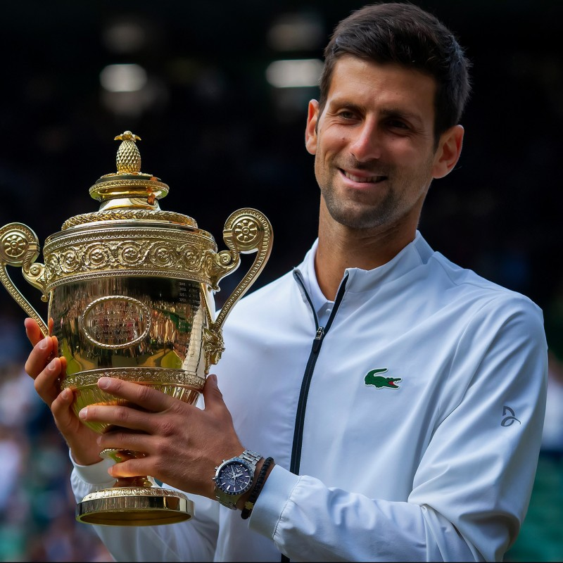 Lacoste T-Shirt Signed by Novak Djokovic