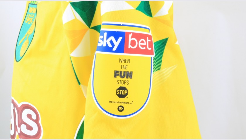Srbeny's Norwich Poppy Match Shirt - Signed