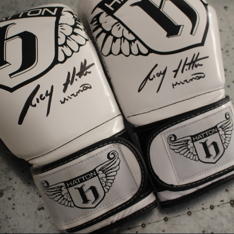 Ricky Hatton Signed Boxing Gloves
