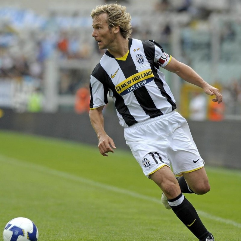 Nedved's Juventus Match Shirt, Serie A 2008/09