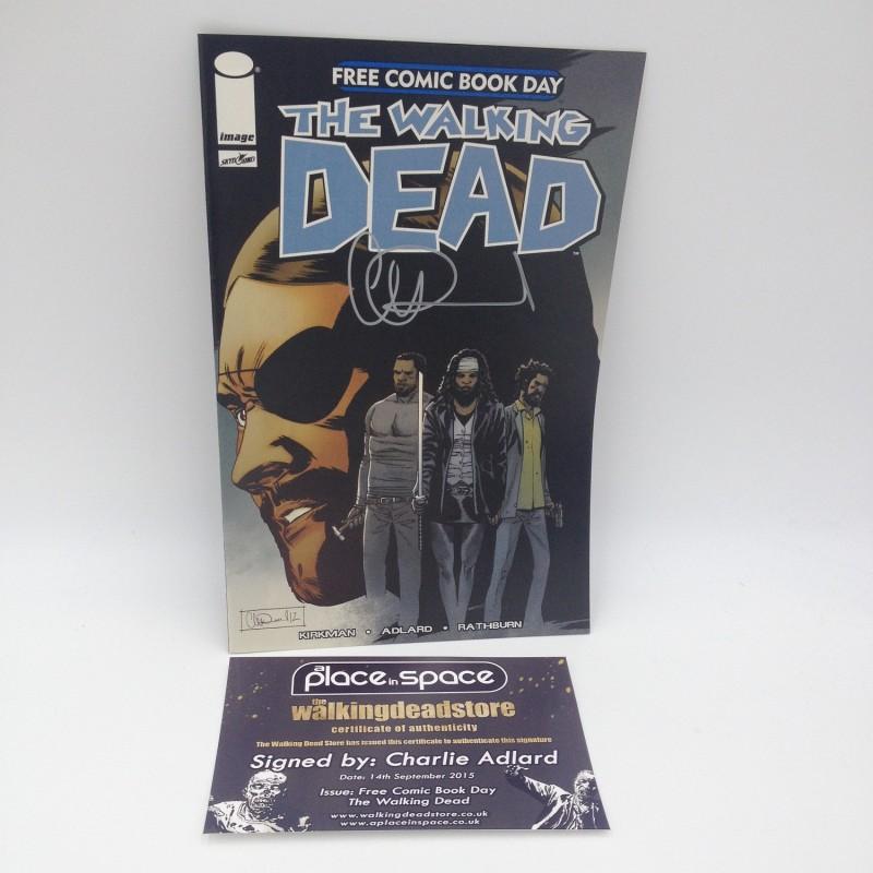 """""""The Walkind Dead"""" Comic Signed by Charlie Adlard"""