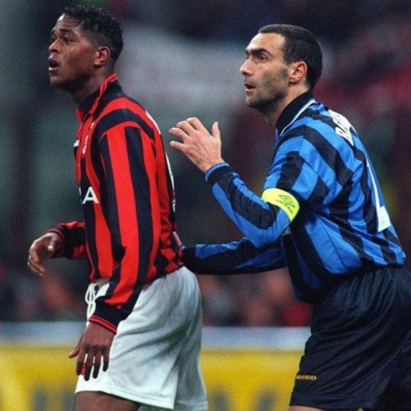 Bergomi's Inter Match Shirt, 1995/96