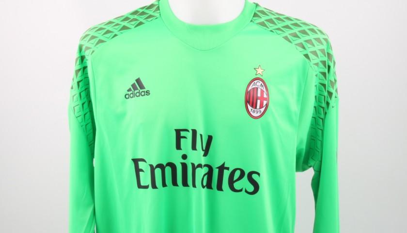 bdd771998f218a Maglia Donnarumma Milan, Preparata/Indossata Serie A 2016/17 ...